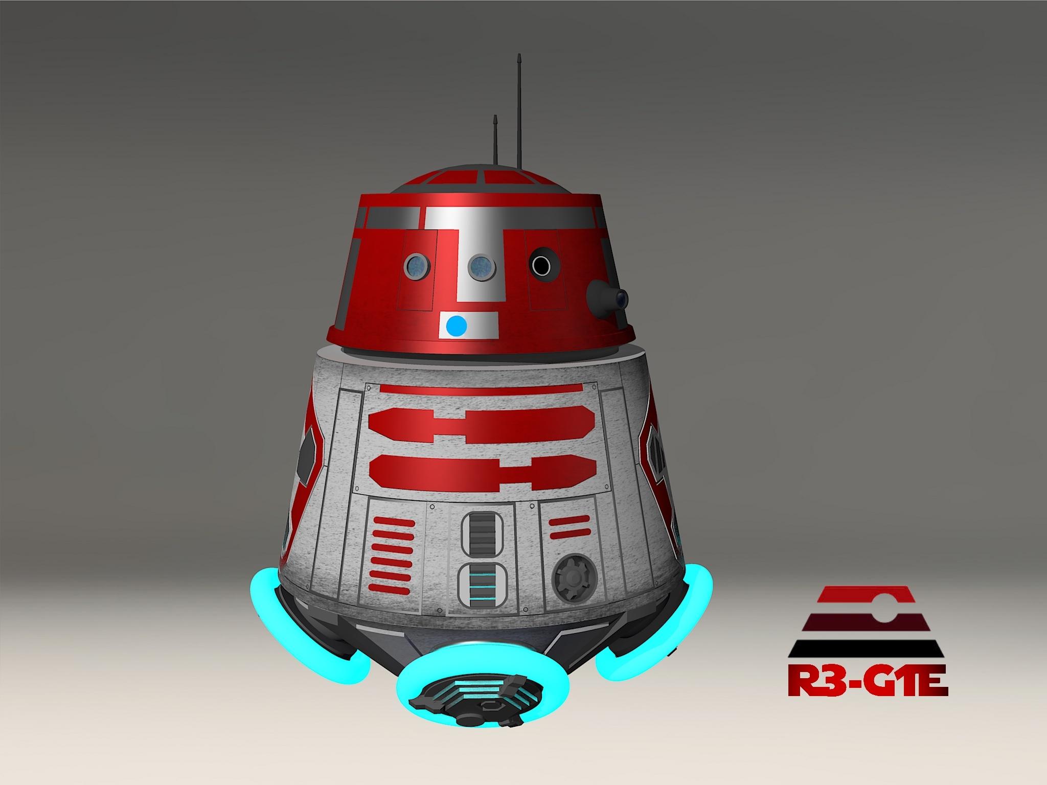 Star Wars Astromech Droid R3 G1e By Calamitysi On Deviantart