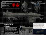 Star Wars Nebulon-K Frigate