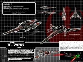 Star Wars Cyclone Class R-Wing by calamitySi