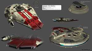 Star Wars YT-2600 Freighter - The 'Wildfire'