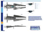 Galactic Patrol Spaceship Britannia Haynes Plans