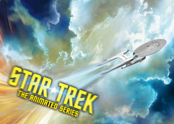 Star Trek The Animated Series teaser poster