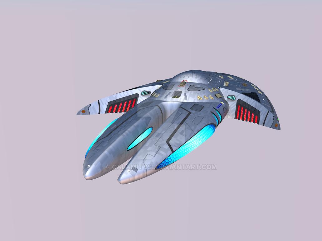 U.S.S. Avalon Updated Texture 4 by calamitySi