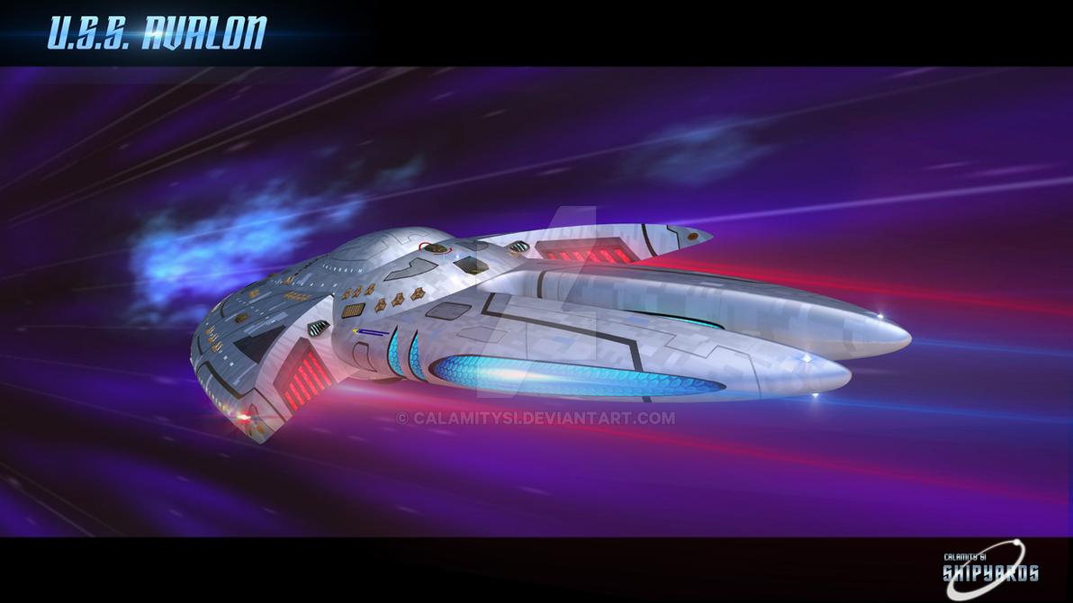 U.S.S. Avalon Slipstream 2 by calamitySi