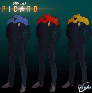 Star Trek Picard Uniforms