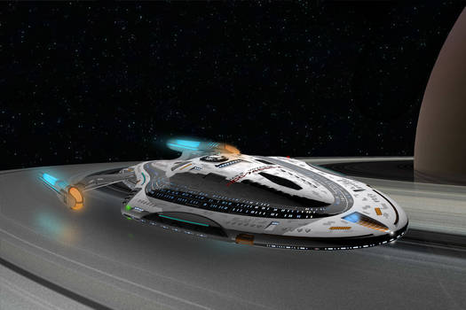 U.S.S. Voyager NCC-74656-A