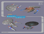 Star Trek: Lower Decks U. S. S. Cerritos by calamitySi
