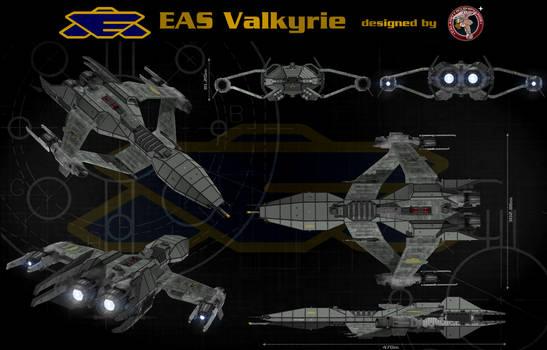 Babylon 5 ship Greystar Class by calamitySi