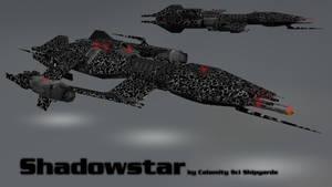 Babylon 5 ship : Advanced X Shadowstar