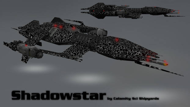 Babylon 5 ship : Advanced X Shadowstar