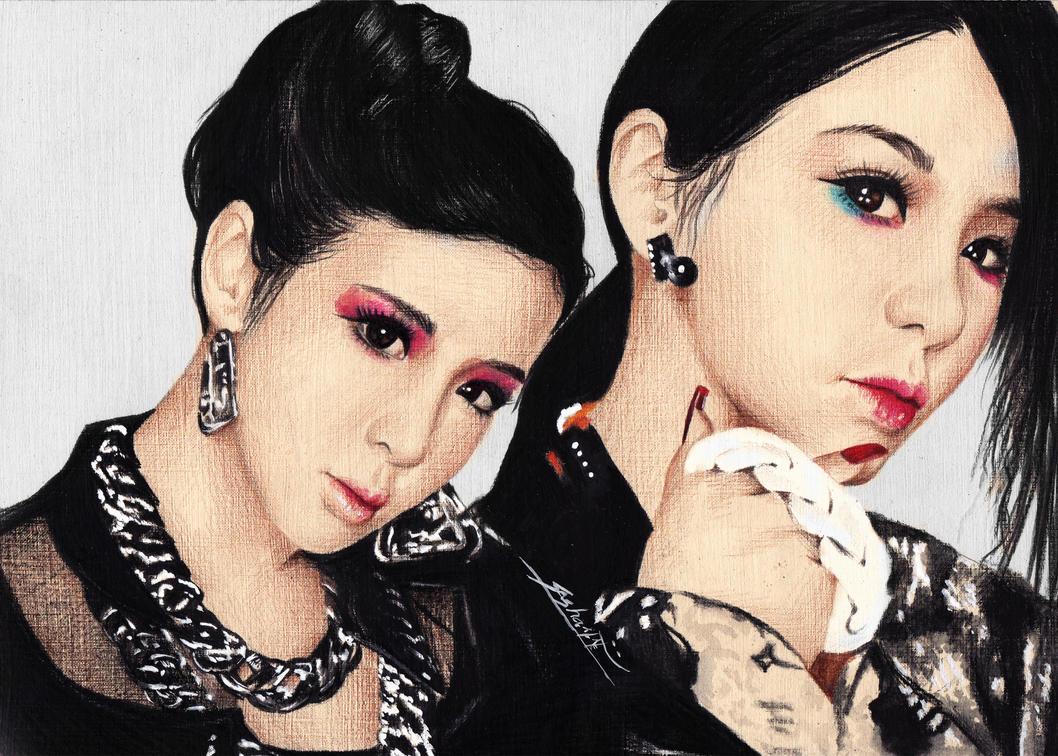 Park bom bom 2ne1 come back home by sasha pak on deviantart - 2ne1 come back home wallpaper ...