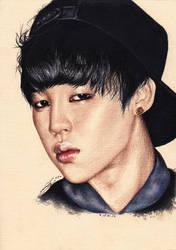 Park JIMIN BTS by sasha-pak