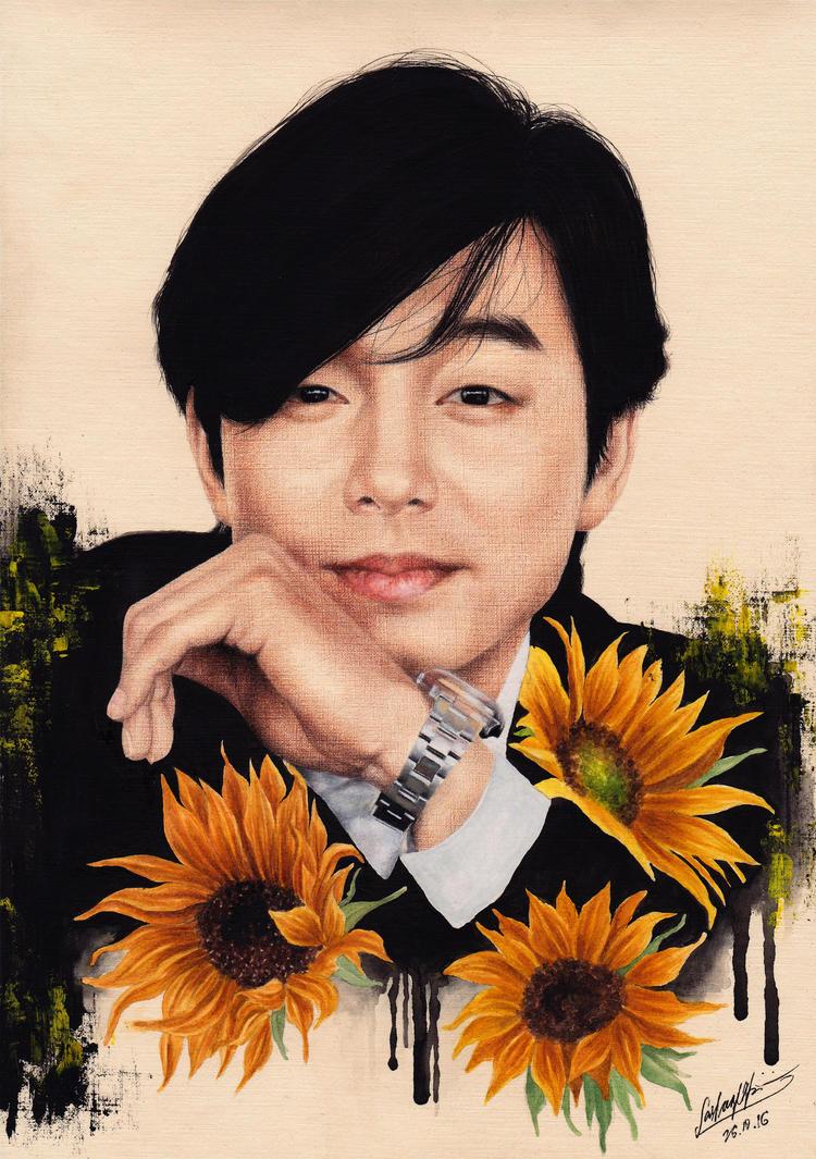 Gong Yoo by sasha-pak