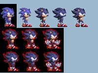 StH-Dark Super Sonic by Shinbaloonba