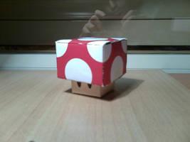 Cubeecraft: Mario Mushroom by MelzGrave