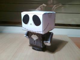 Cubeecraft: Jack Skellington by MelzGrave