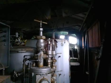 Former Burlington Northern commuter E Unit