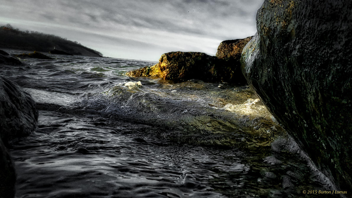 Rock Water HDR 001 by BurtonJLomax
