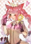 Momo/Art trade with Suikacchi