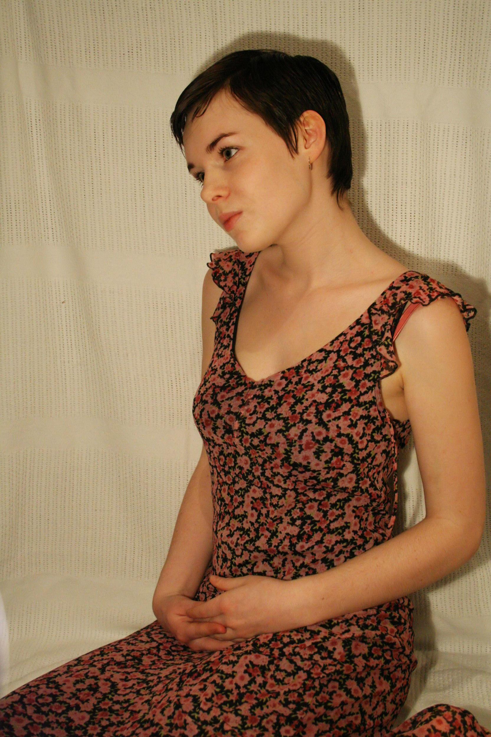 Floral Dress by that-damn-eskimo