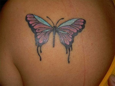 Butterfly Tattoo - Kelebek