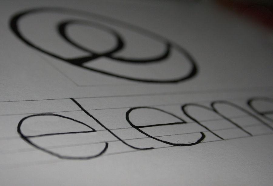 elementary OS hand-made logo