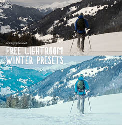 Free Winter Presets for Adobe Lightroom