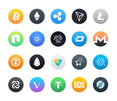 Free Cryptocurrency Icons by NaldzGraphics
