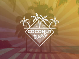 Free Coconut Trees Vector Graphics by NaldzGraphics