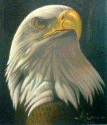 the eagle's head by djoensgalery