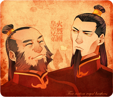 the fire nation brothers