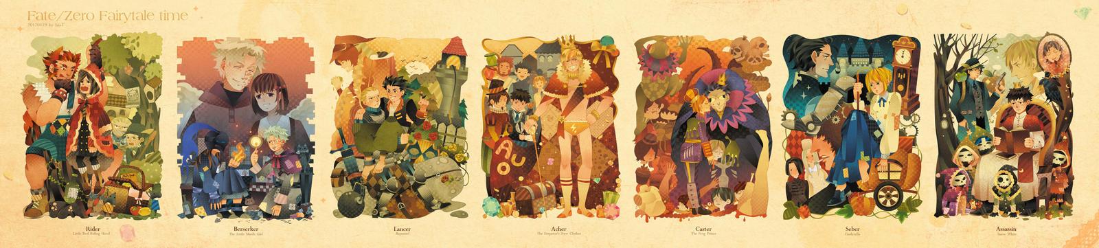 Fate/Zero Fairy tale time