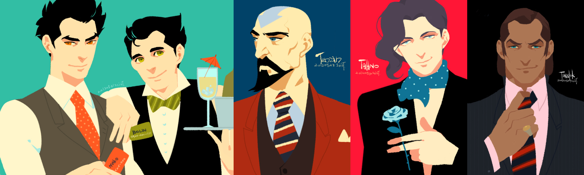 lok: men in suit! by freestarisis