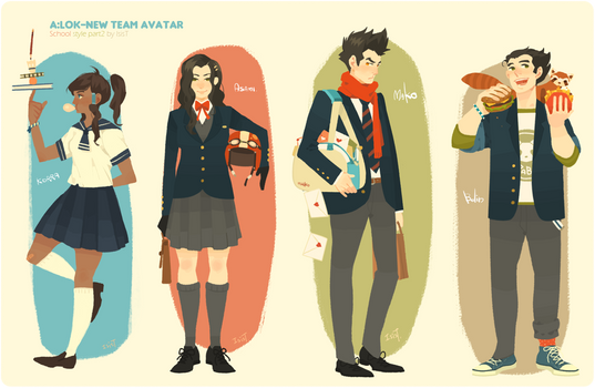 New team Avatar school style part2