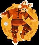 China rabbit hat:jump