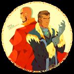 Aang and Yakone