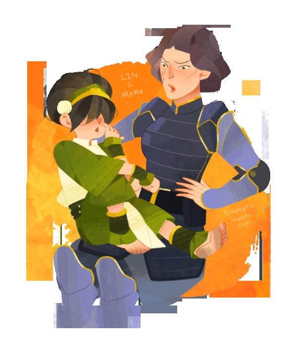 Lin and mama by freestarisis