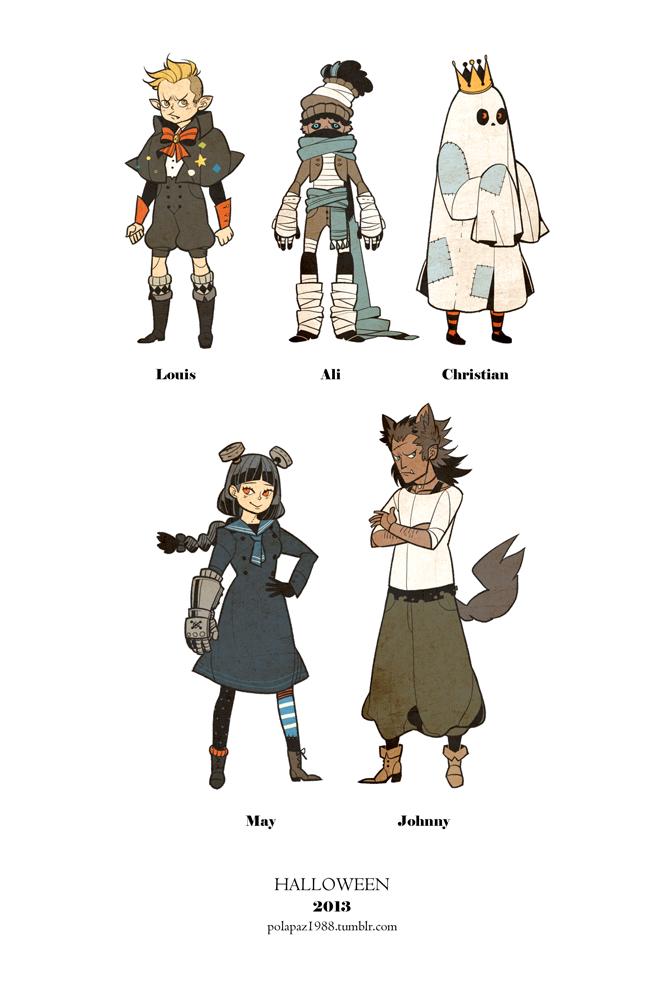 Halloween Character Design Challenge : Halloween character design by freestarisis on deviantart