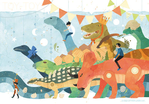 Dinosaur Toy Parade