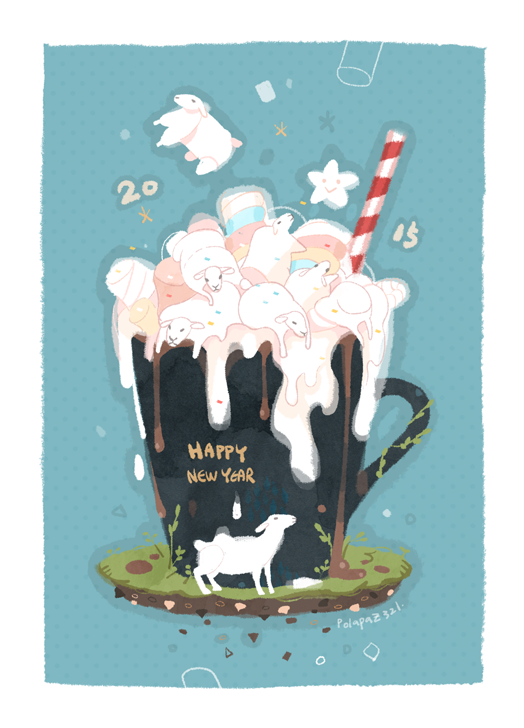 Happy New Year 2015 by freestarisis