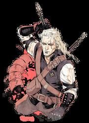 Geralt of Rivia. by freestarisis