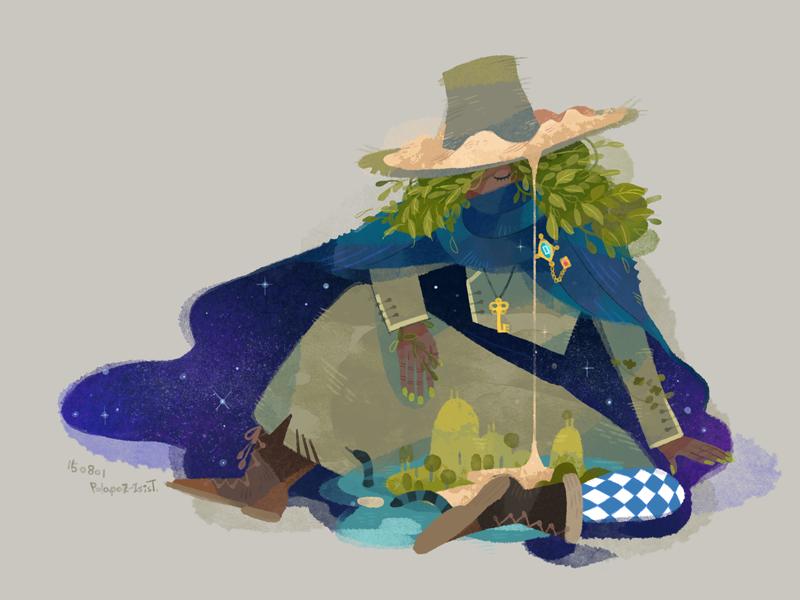 traveler by freestarisis