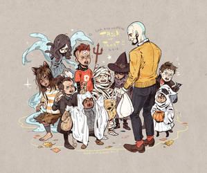 LOK kid villains Halloween 2015