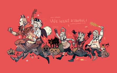 Happy Halloween by freestarisis