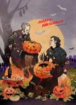Witcher Vampires on Halloween.
