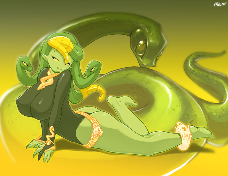 Vite and Snakey by CookingPeach