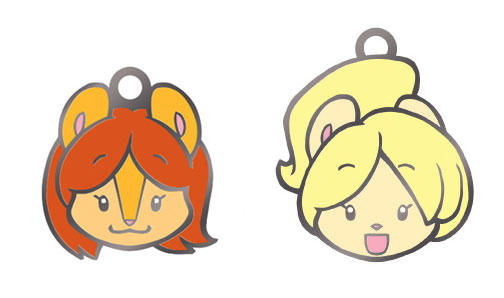 Peaches and Cream Charms