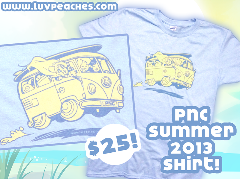 Peaches and Cream Summer 2013 Shirt at AnthroCon! by CookingPeach
