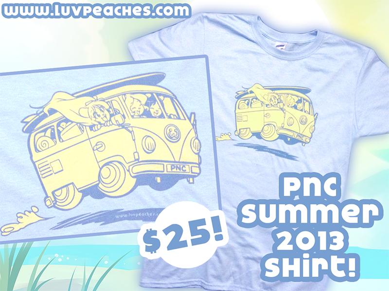 Peaches and Cream Summer 2013 Shirt at AnthroCon! by CookingPeach