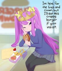 Burger Crown by CookingPeach